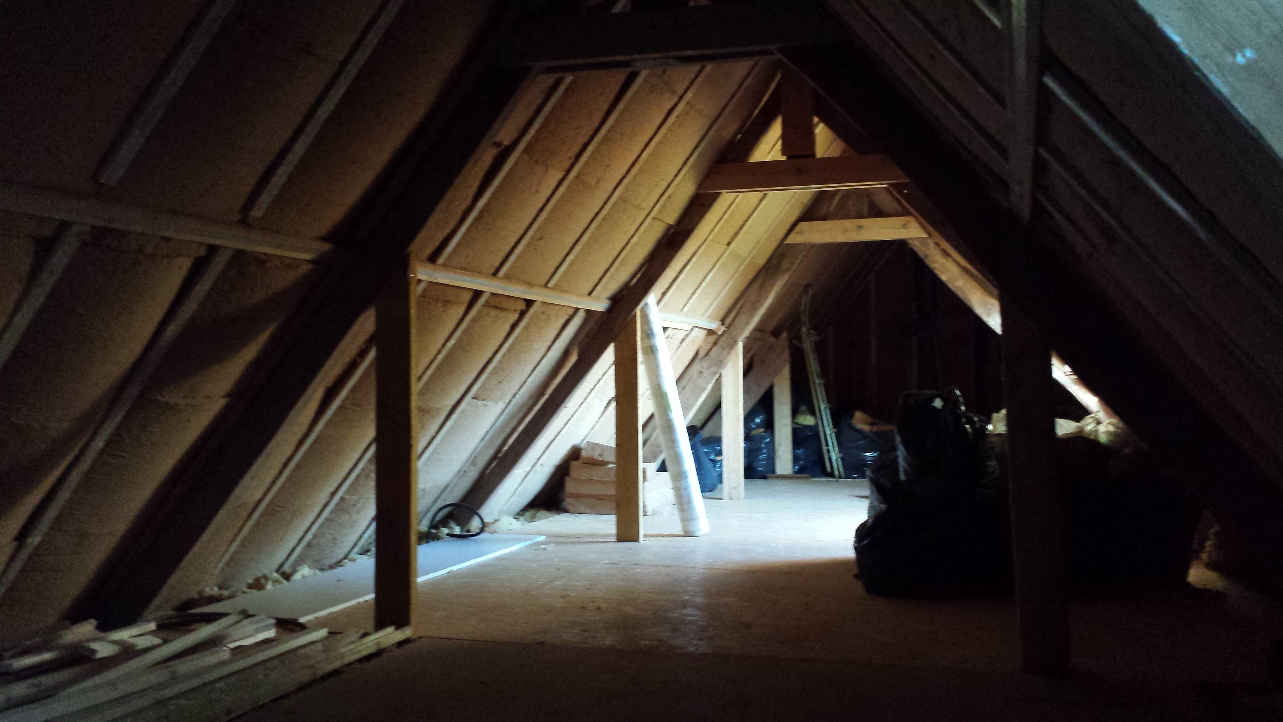 Réalisation d'une isolation de combles à Mont Saint-Aignan